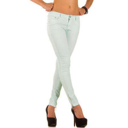 Damen Jeans von Best Emilie Gr M turkis b2