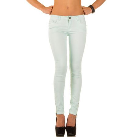 Damen Jeans von Best Emilie turkis