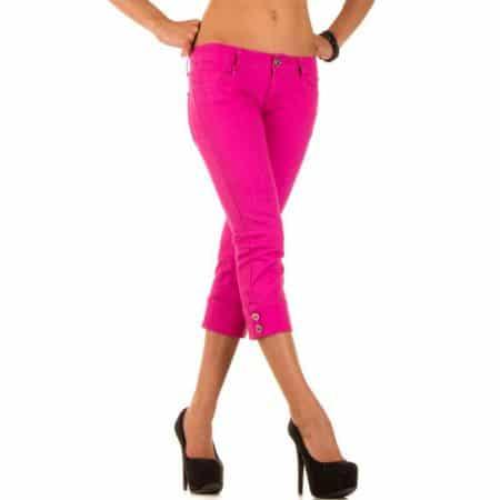 Damen Jeans von J Denim Gr L 40 pink b2