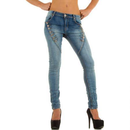 Damen Jeans von Mozzaar Lblue 5