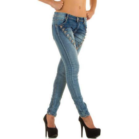 Damen Jeans von Mozzaar Lblue 5 b2