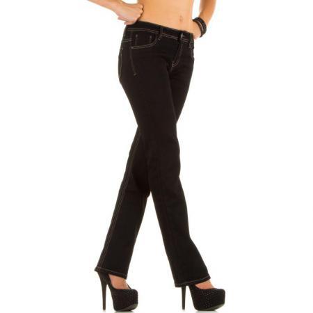 Damen Jeans von My Christy Gr XXL 44 black 15 b2
