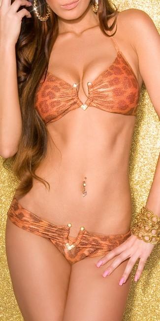 bikini with v buckle 123