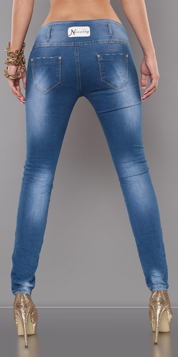 ccPcs Sexy Skinny Jeans in Used Look Color JEANSBLUE Size Lot 0000J7723 JEANSBLAU 2 1 Copy 1