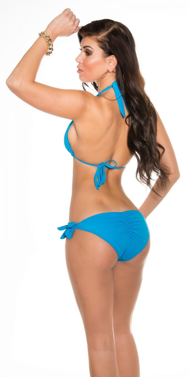 ccpcs Sexy Neck Bikinis with chains Color TURQUOISE Size Lot 0000ISF18106 N TUERKIS 16