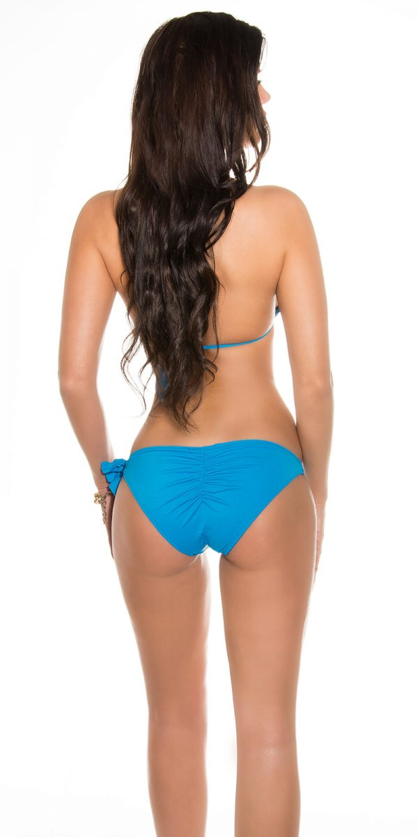 ccpcs Sexy Neck Bikinis with chains Color TURQUOISE Size Lot 0000ISF18106 N TUERKIS 19
