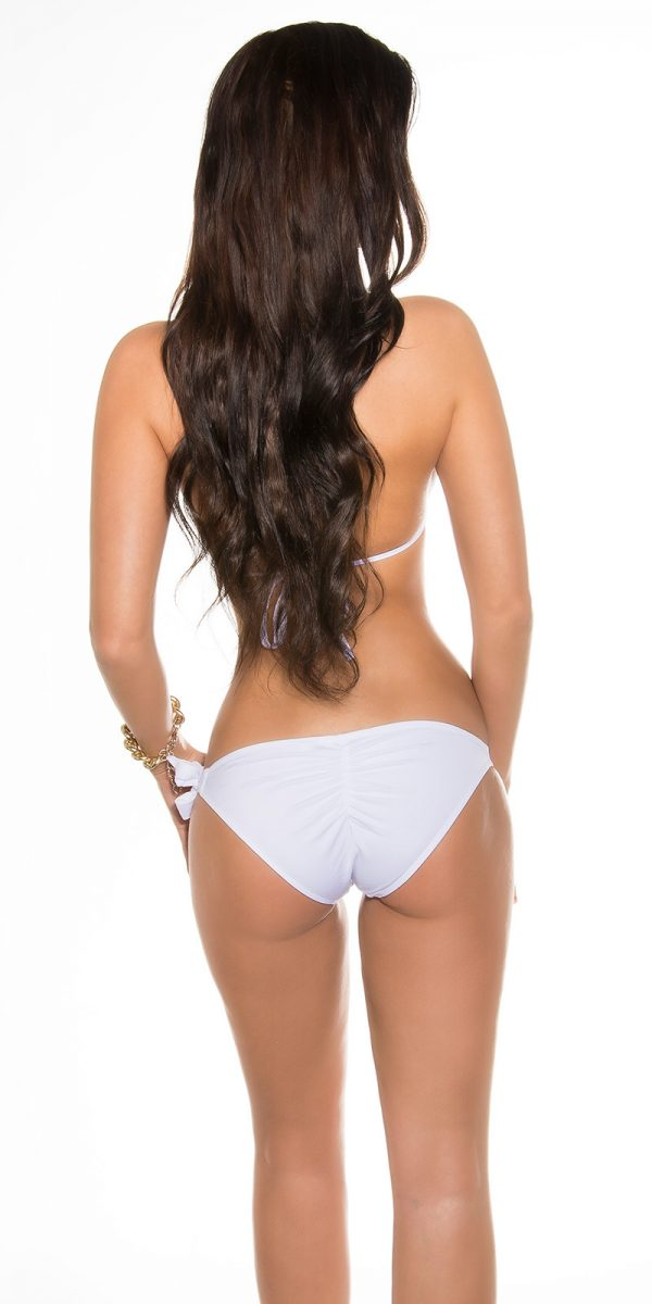 ccpcs Sexy Neck Bikinis with chains Color WHITE Size Lot 0000ISF18106 N WEISS 27