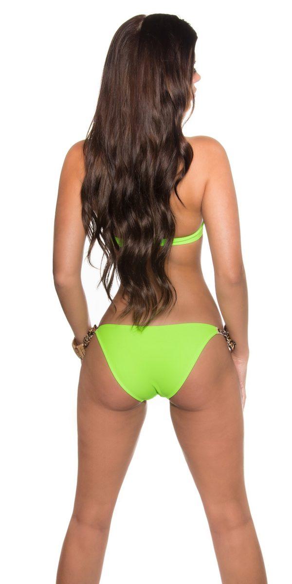 eeneckholder bikini for binding with leo Color NEONGREEN Size 40 0000ISF096 NEONGRUEN 13 1 Copy