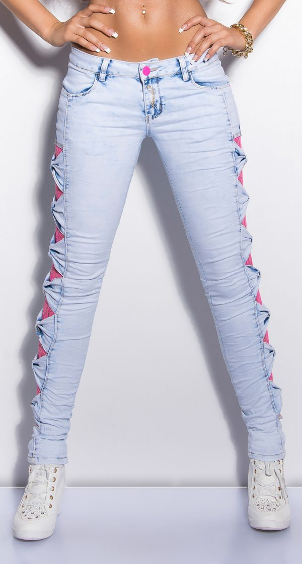 ooKouCka skinny jeans with lace Color JEANSBLUE Size 36 0000K600 155 JEANSBLAU 8 Copy