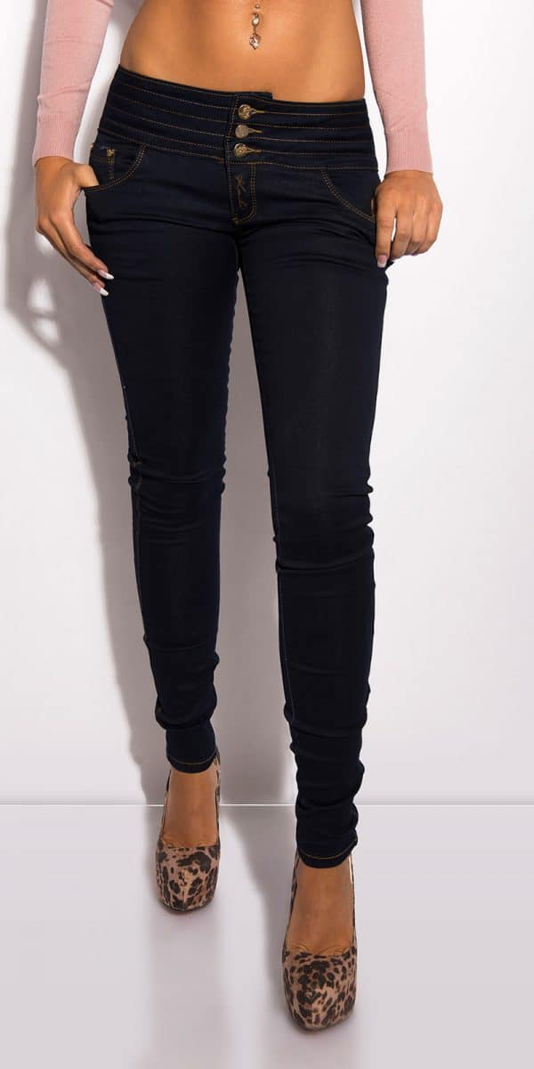ooKouCla Jeans to tie with zip Color JEANSBLUE Size 36 0000CK600 83 JEANSBLAU 11 2