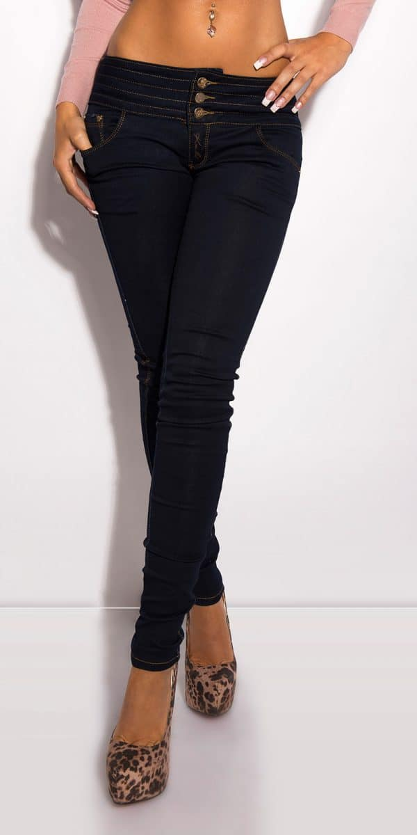 ooKouCla Jeans to tie with zip Color JEANSBLUE Size 36 0000CK600 83 JEANSBLAU 4 2 Copy