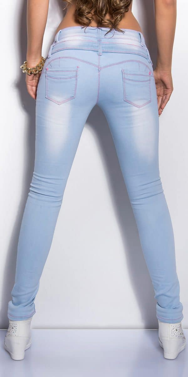 ooKouCla lightwash skinnyjeans Color JEANSBLUE Size 36 0000K600 154 JEANSBLAU 2