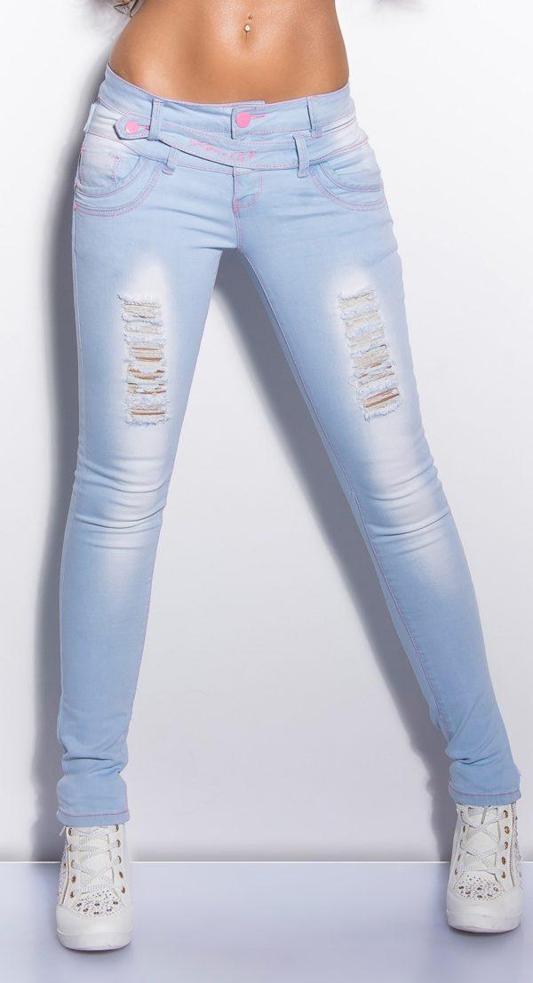 ooKouCla lightwash skinnyjeans Color JEANSBLUE Size 38 0000K600 154 JEANSBLAU 4