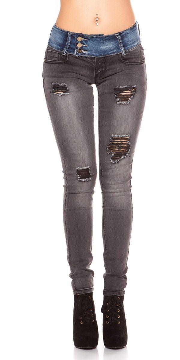 ooKoucla skinny jeans usedlook blueblack Color JEANSBLACK Size 36 0000K600 280 JEANSSCHWARZ 17 Copy 2