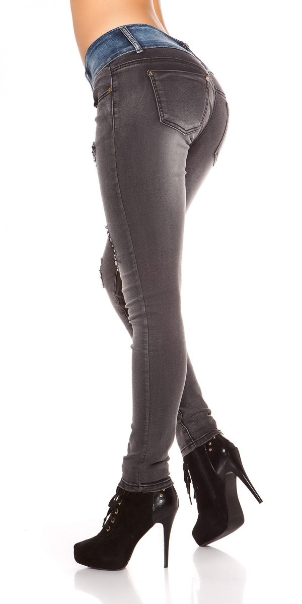 ooKoucla skinny jeans usedlook blueblack Color JEANSBLACK Size 36 0000K600 280 JEANSSCHWARZ 22