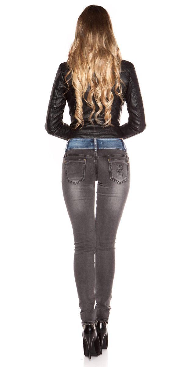 ooKoucla skinny jeans usedlook blueblack Color JEANSBLACK Size 36 0000K600 280 JEANSSCHWARZ 26