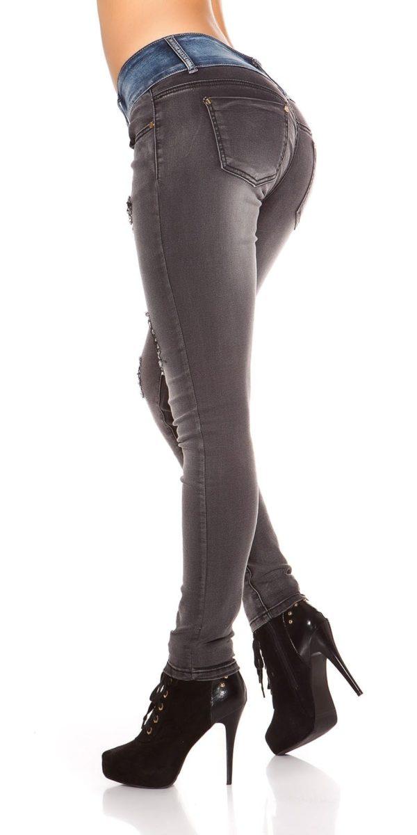 ooKoucla skinny jeans usedlook blueblack Color JEANSBLACK Size 38 0000K600 280 JEANSSCHWARZ 22