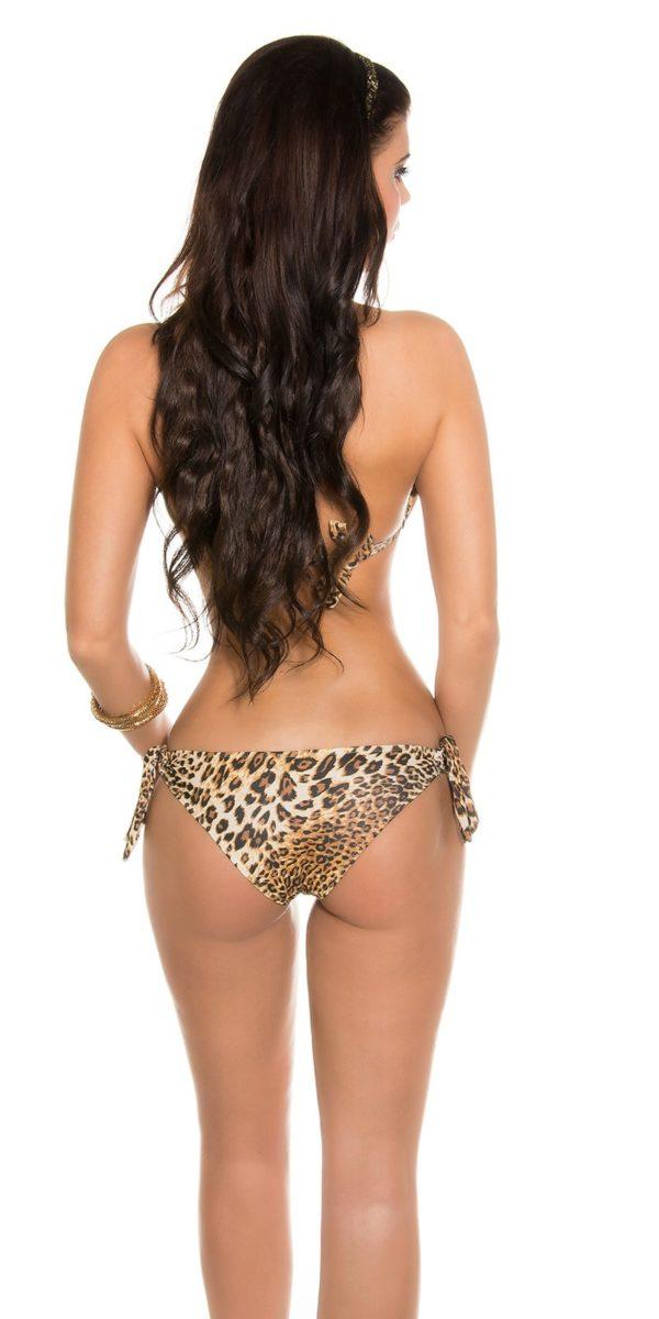 rrTriangle Bikini with Snake buckle Color LEO Size L 0000B2116E LEO 6