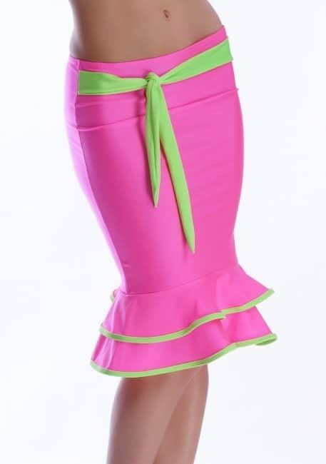 Šaty a sukňa 2v1 ružová