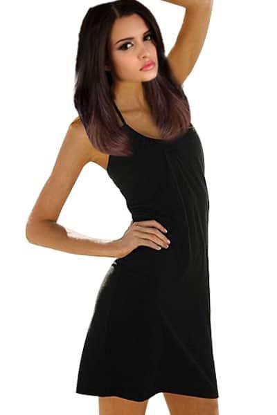 Šaty letné čierne
