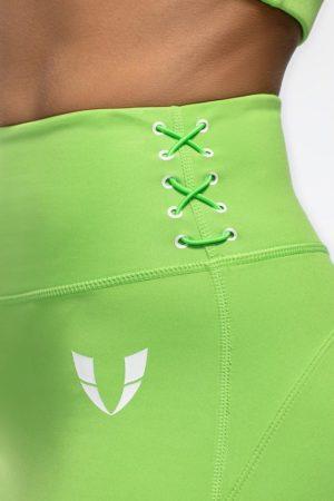 Legíny na cvičenie HONEYPEACH zelené